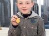 Garvin Rooney, Gold Medal Winner for Solo Verse (boys U-9).